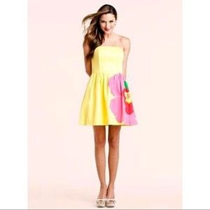 Lilly Pulitzer Lottie Dress Starfruit Yellow